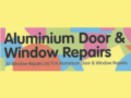 Aluminium Window & Door Repair Service