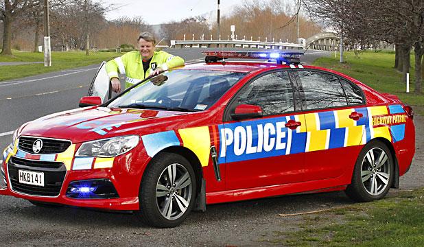 New Highway Patrol Police Car