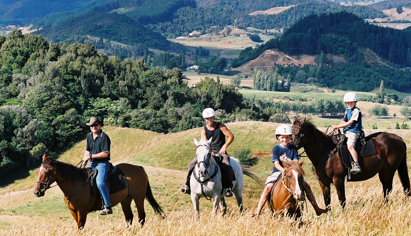 Horse Riding on Ruapehu