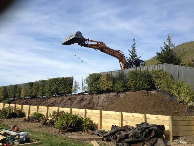 Constructive Landscape Solutions specialists in retaining walls throughout Hawkes Bay