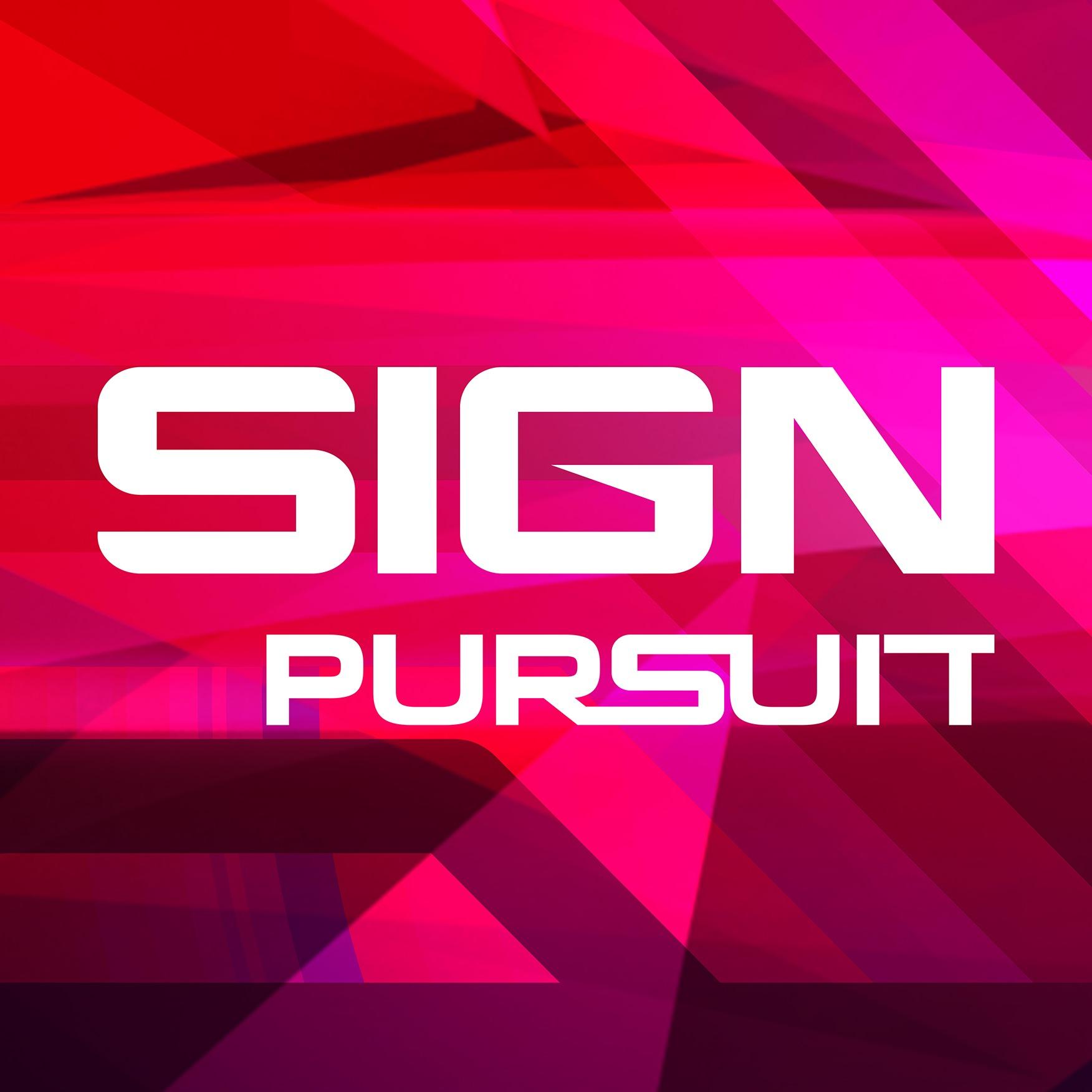 Sign Pursuit