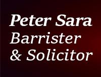 Peter Sara Barrister & Solicitor