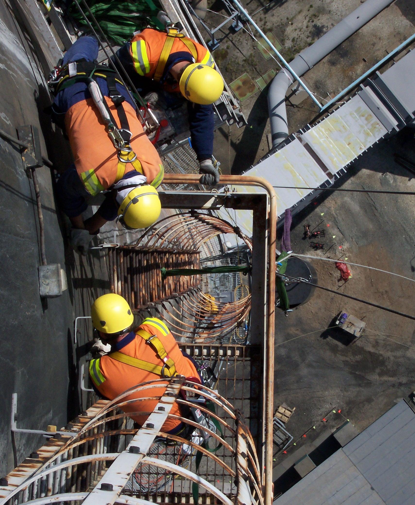 Stack Ladder Removal