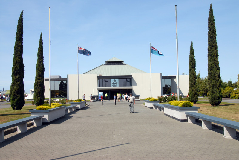 Air Force Museum Entrance
