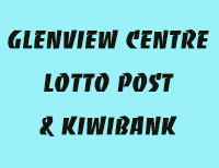 Glenview Centre Lotto Post & Kiwibank