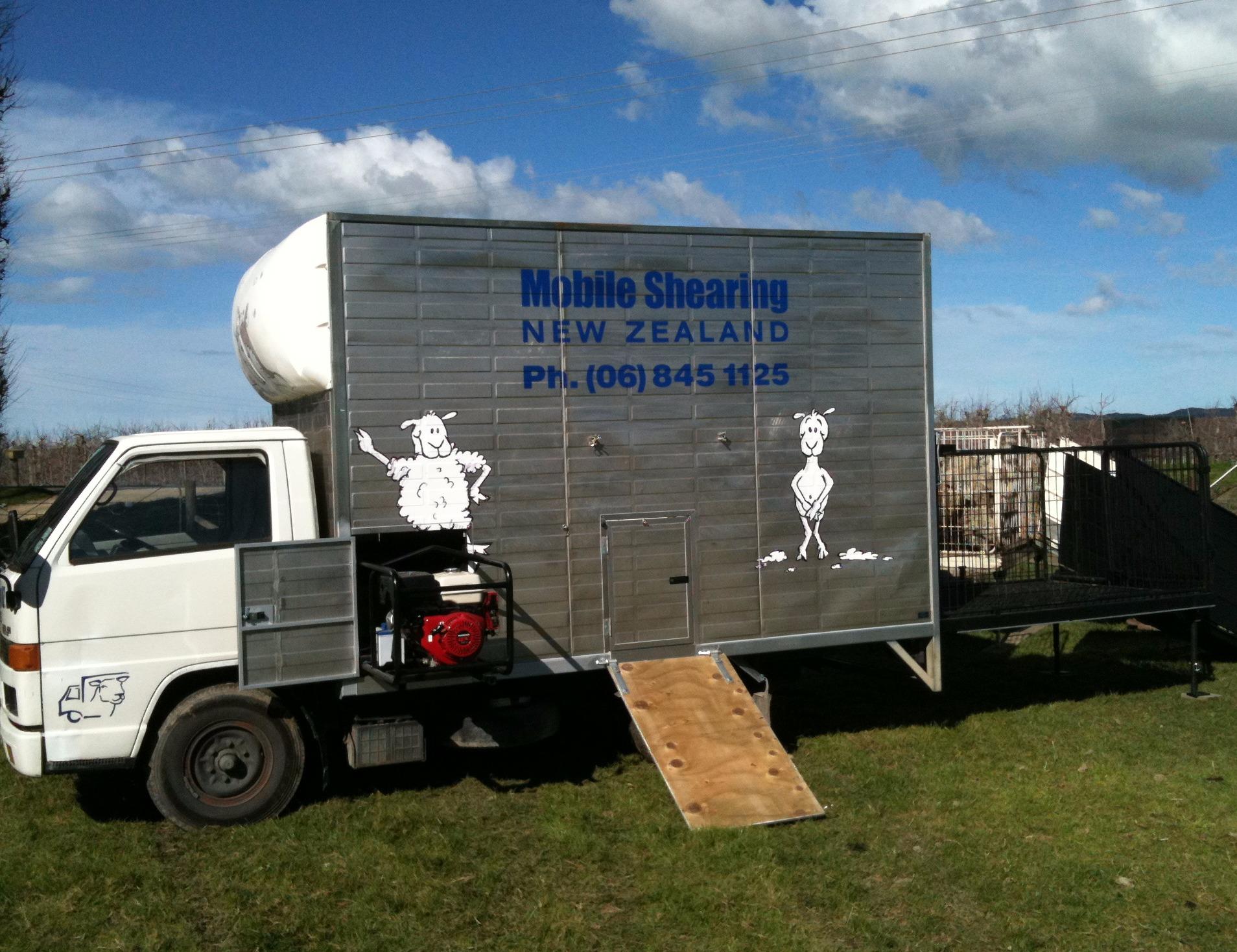 Hawkes Bay Mobile Shearing