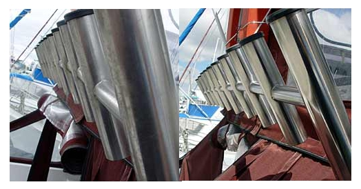 Restoring and Cleaning Stainless Steel Marine equipment