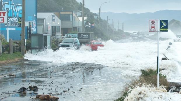 Storm Hits Island Bay