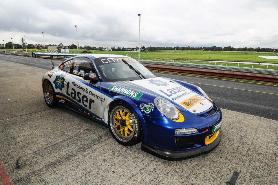 Laser Plumbing Racing Sponsorship