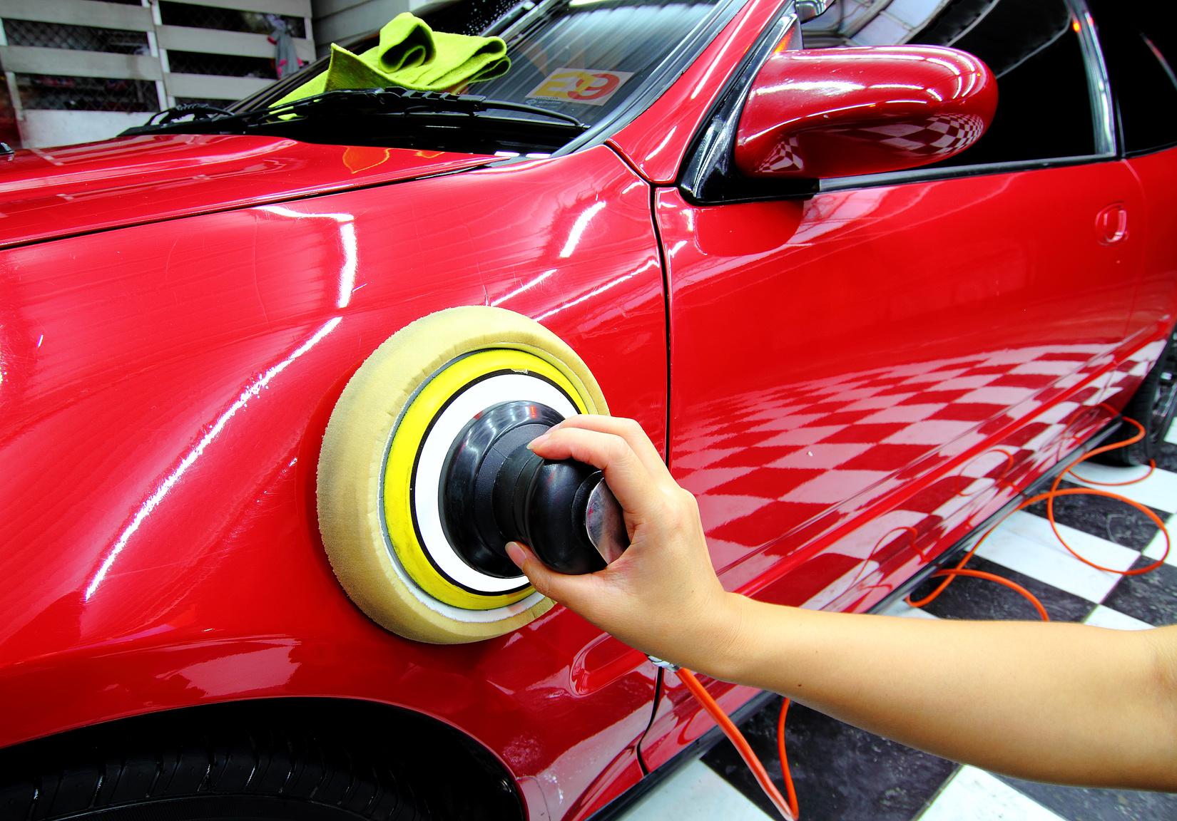 Как сделать полироль для авто своими руками 6