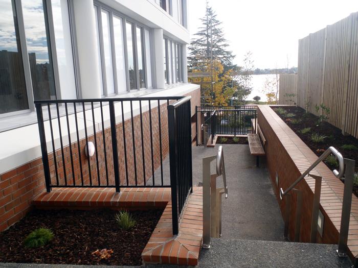 Modern Walkway in Waikato