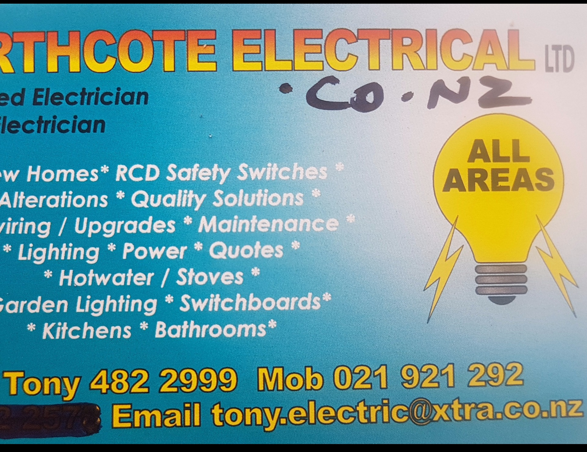Northcote Electrical Ltd