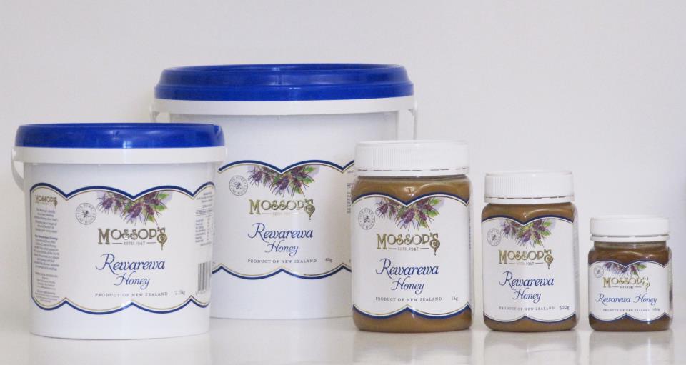 Rewarewa Honey * Sizes Avail: 6kg, 2.5kg, 1kg, 500g and 250