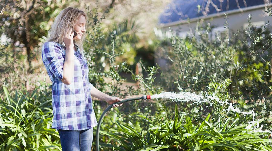 Complaint whilst Gardening