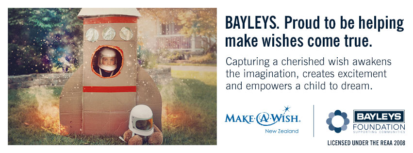The Bayleys Foundation is committed to supporting our communities throughout New Zealand.