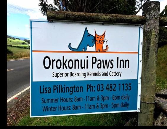 Orokonui Paws Inn