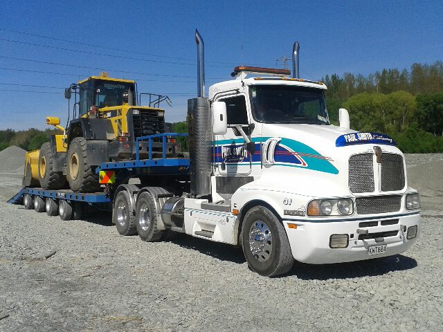 Transporter Moving Excavator
