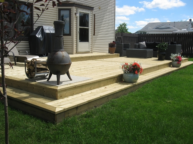 Outdoor Deck Design and Build