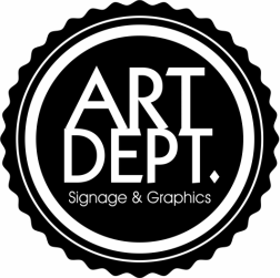 Art Dept. Signage & Graphics
