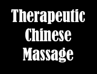 Therapeutic Chinese Massage