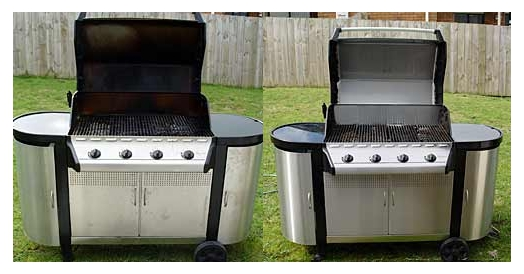 Restoring and Cleaning Stainless Steel BBQs