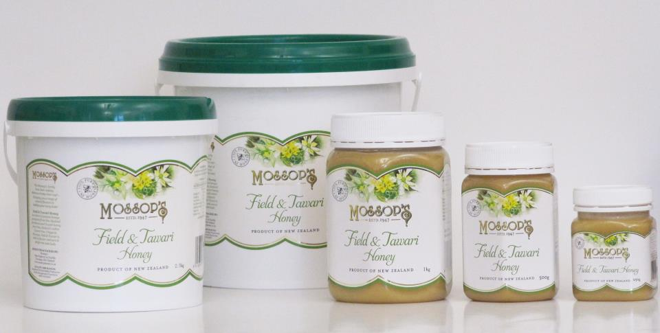 Field & Tawari Honey * Sizes Avail: 6kg, 2.5kg, 1kg, 500g and 250g
