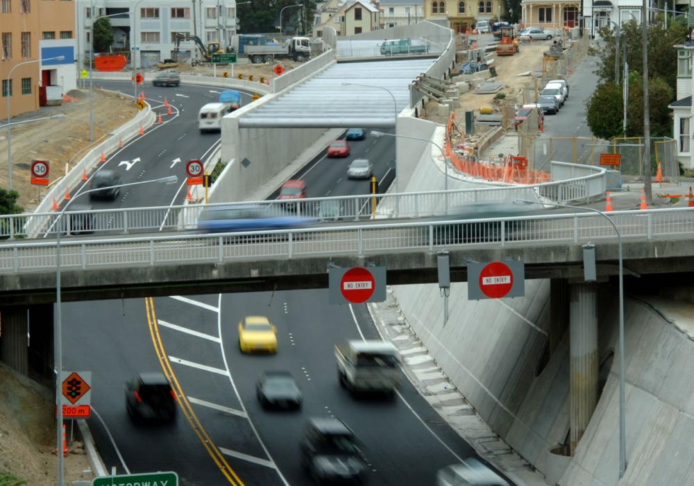Wellington Motorway Underpass Project