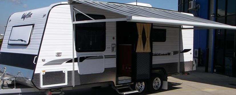 Cvana Caravan Motor Home Awnings Kapiti Yellow Nz