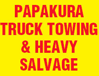 Papakura Truck Towing & Heavy Salvage
