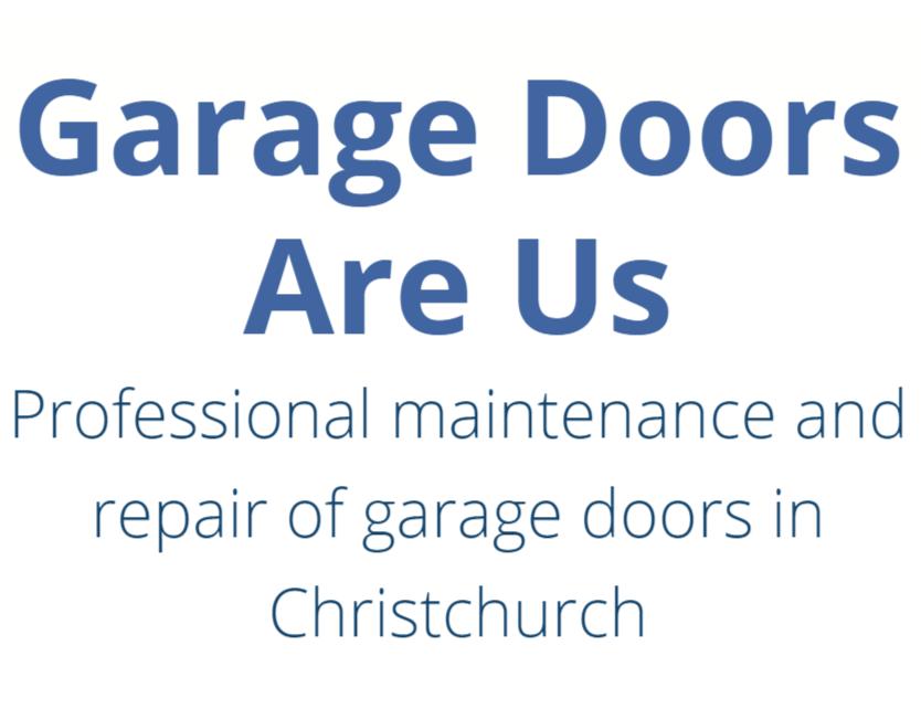 Garage Doors Are Us