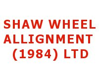 Shaw Wheel Alignment (1984) Ltd
