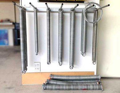 All Types of Garage Door Springs in Stock