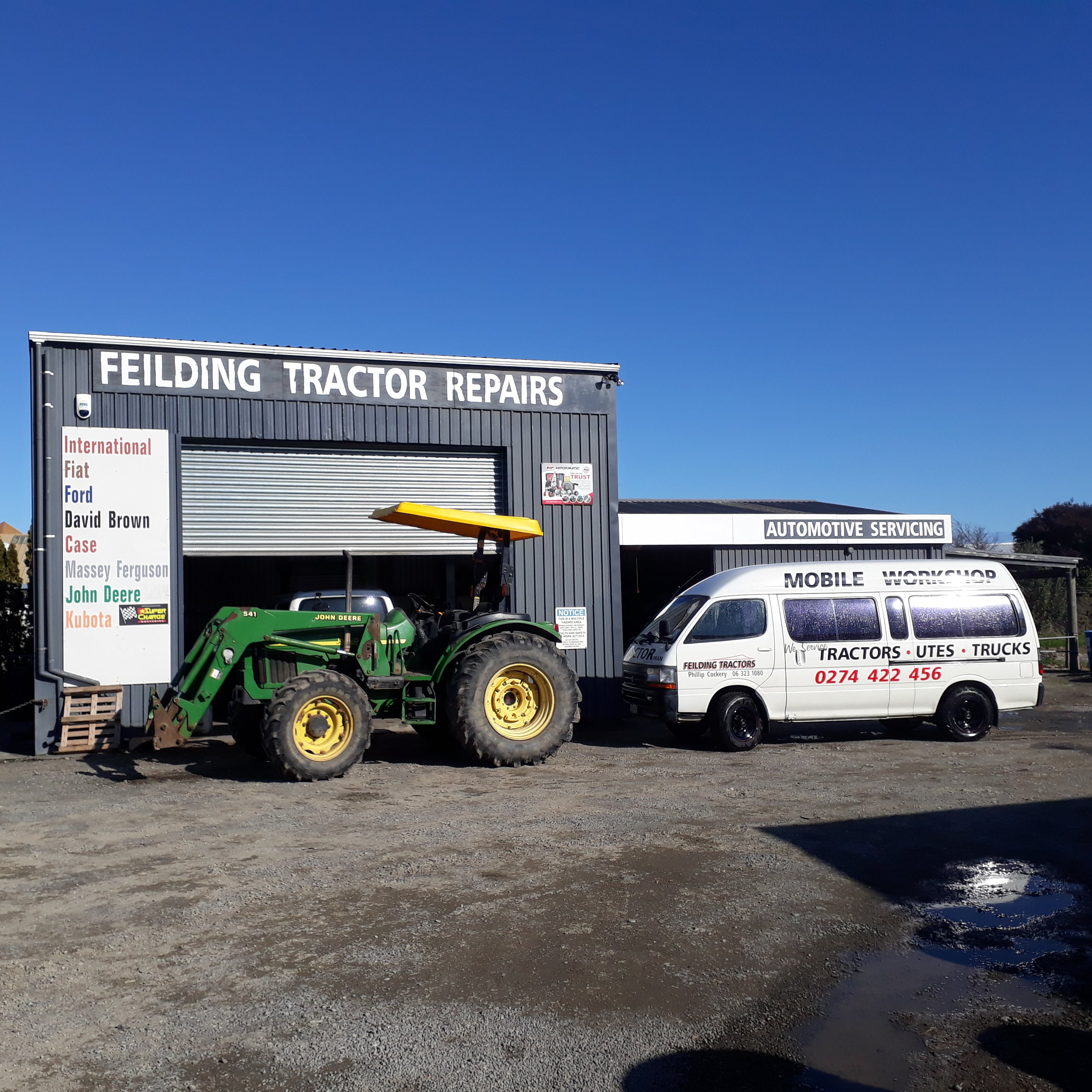 Feilding Tractors (2018) Limited
