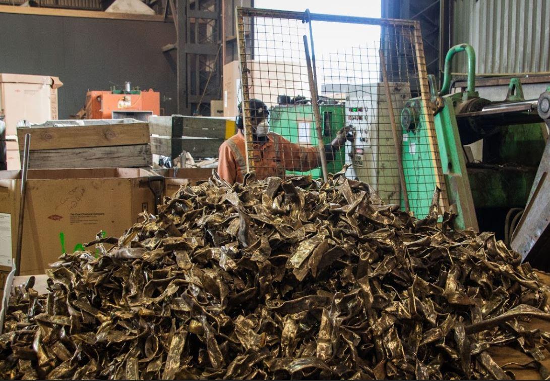 Sorting Scrap in Petone