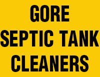 Gore Septic Tank Cleaners