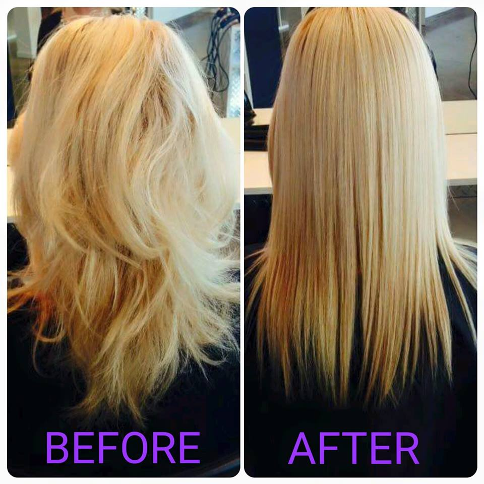 Cezanne - Keratin Hair Smoothing treament done by Reflections Hair and Beauty