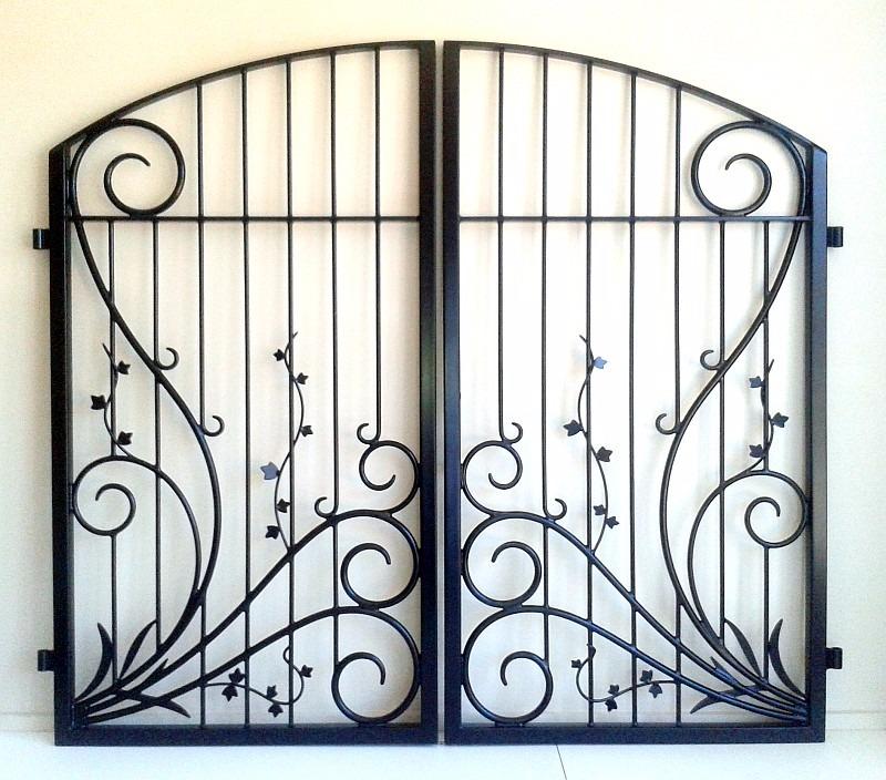 Koru and Vine double gates