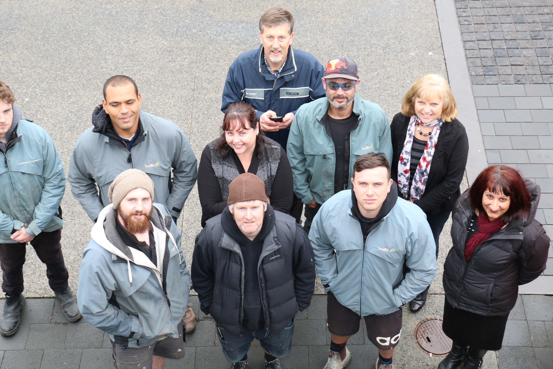 Team Photo in Wellington