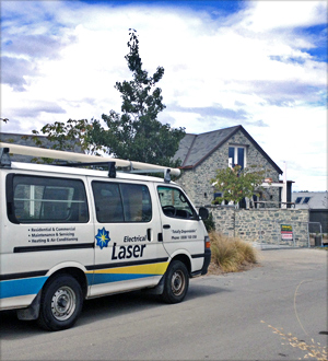 Laser Van in Queenstown