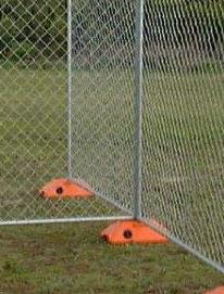 Subdividing a Temporary Fence