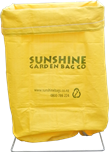 600Lt Garden Bag - Suitable for garden waste such as weeds, plants, shrub prunings, grass clippings etc.