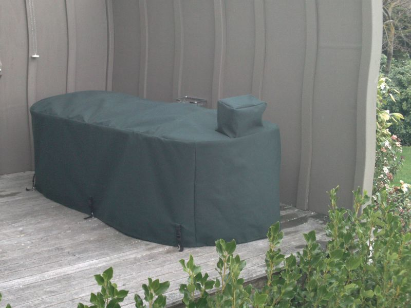 We will even cover your outdoor bath !