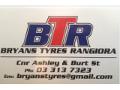 Bryans Tyres Rangiora Limited