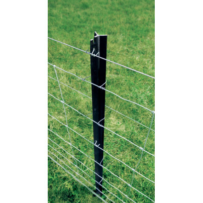 Steel n Tube Fencing Standard Posts High Strength 7 Hole