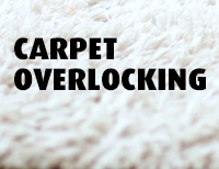 Carpet Overlocking