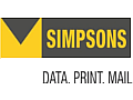 Simpsons Data Print + Mail