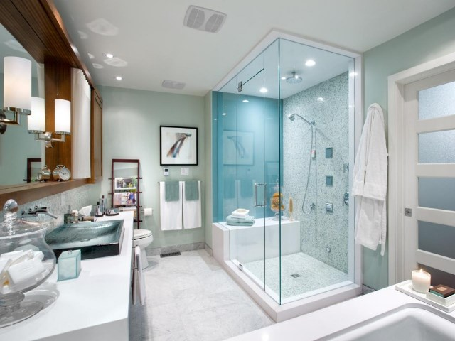 Custom Modern Shower Designs