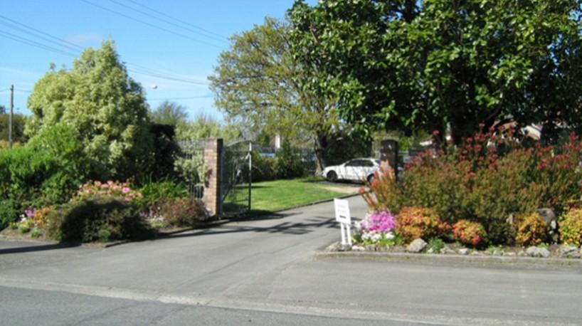 Landsdown Entrance