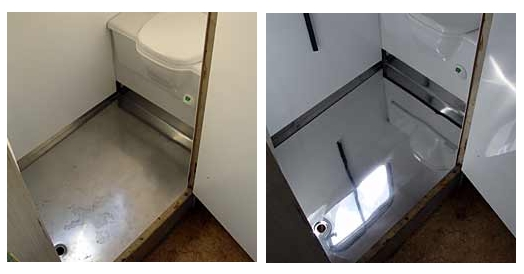 Restoring and Cleaning Stainless Steel Toilets
