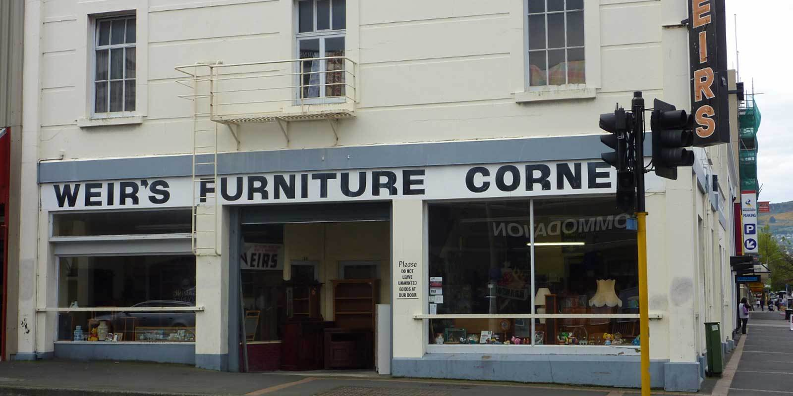 Shop Front - Weir's Furniture Corner
